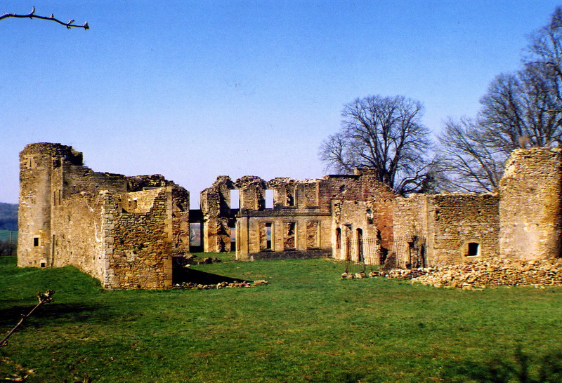 Une vue de chateau de Montquintin